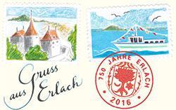Bild Gruss aus Erlach